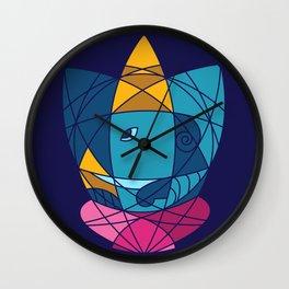 Geometric Ganesha 2 Wall Clock