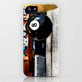 Shooting For The Eight Ball iPhone Case