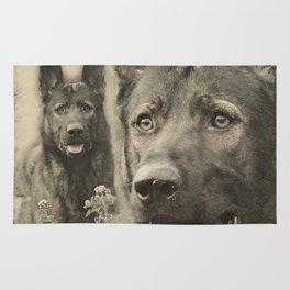 Working German Shepherd Dog - GSD Rug