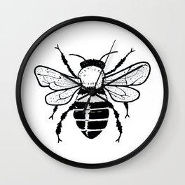 Simple Bee Wall Clock