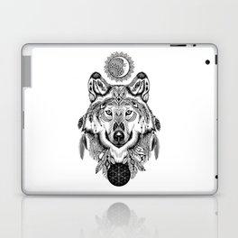 Bohemian Celestial Wolf Laptop & iPad Skin