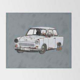 Trabant Throw Blanket