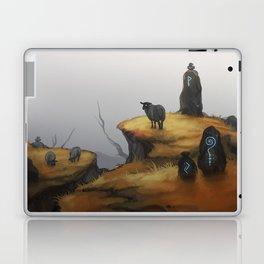 Ruins - orange Laptop & iPad Skin