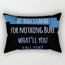 AARON BURR, SIR   HAMILTON Rectangular Pillow
