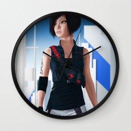 Faith Connors Portrait Wall Clock