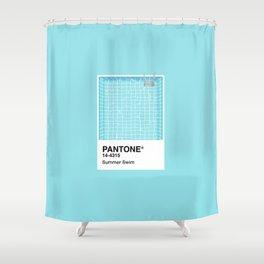 Pantone Series – Summer Swim Shower Curtain
