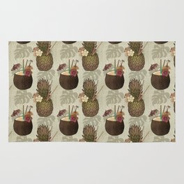 Pineapple Pina Coladas Rug