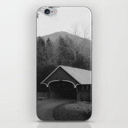 New England Classic Covered Bridge iPhone Skin