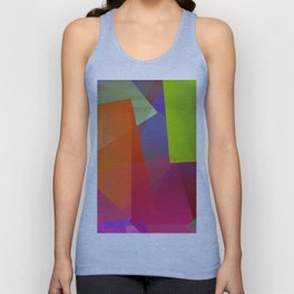 Out of the city Unisex Tank Top