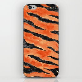 Tiger Stripes (Orange/Black) iPhone Skin