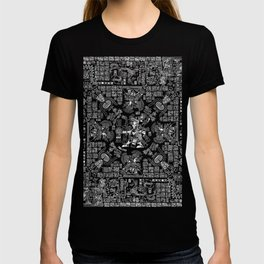 Mayan Spring B&W II T-shirt