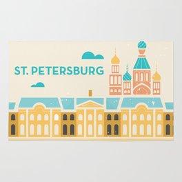 St. Petersburg Fountains Rug