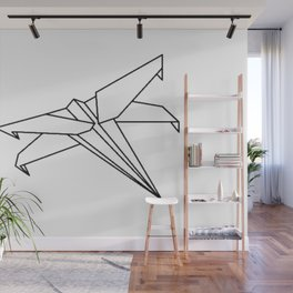 Paper X Fighter Wing Wall Mural
