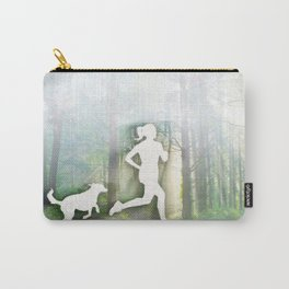 Forest Run Carry-All Pouch