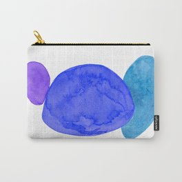 deep blue Carry-All Pouch