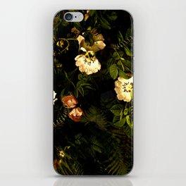 Floral Night III iPhone Skin