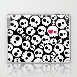 A skull in love Laptop & iPad Skin