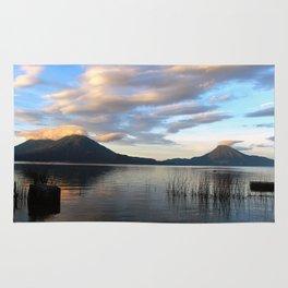 Lago Atitlan Sunrise Rug