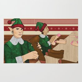 The Naughty List Rug