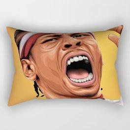 THE ANSWER - ALLEN IVERSON Rectangular Pillow