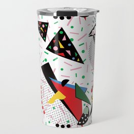 Postmodern Dinner Plates Travel Mug