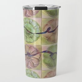 Ribbon Pattern Travel Mug