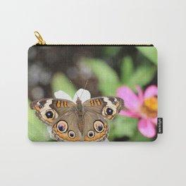 Beautiful Buckeye Butterfly Carry-All Pouch