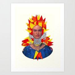 Frida Your Mind Art Print