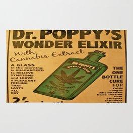 Vintage poster - Dr. Poppy's Wonder Elixir Rug