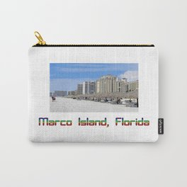Marco Island, Florida 9 Carry-All Pouch