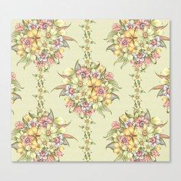 Bouquet Blossom Canvas Print