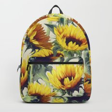 Sunflowers Forever Backpacks