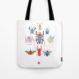 Stitches: Bugs Tote Bag