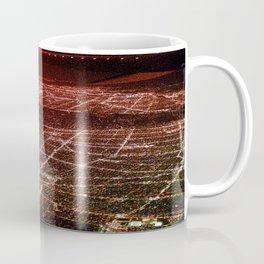 Night Flight out of Los Angeles Red Coffee Mug