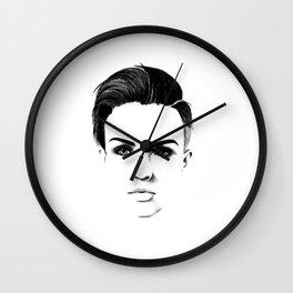 Ruby Rose Wall Clock