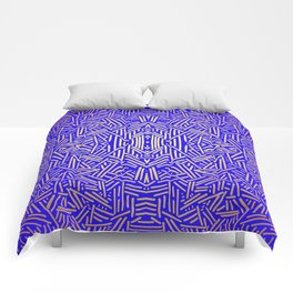 Radiate (Yellow/Ochre Royal) Comforters