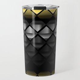 Luxury golden and silver pattern  #society6 #decor #buyart #artprint Travel Mug