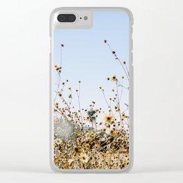 sunny ii Clear iPhone Case