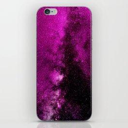 Fuchsia Galaxy iPhone Skin
