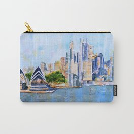 Colorful Sydney Harbor Carry-All Pouch