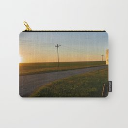 Hauge Cemetery Sunset Carry-All Pouch