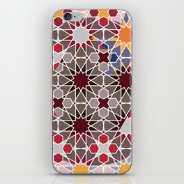 Arabian abstract pattern iPhone Skin