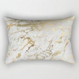 Gold marble Rectangular Pillow