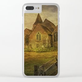 St Clement's Old Romney From The East Clear iPhone Case