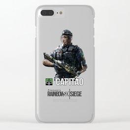 Rainbow 6 | Capitao Clear iPhone Case
