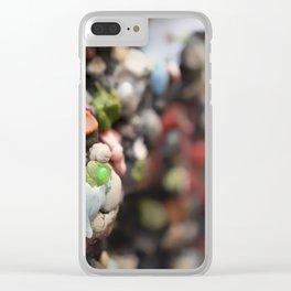 A Work of Art Bubblegum Alley Clear iPhone Case
