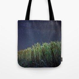 Wheat Field Planetarium Tote Bag