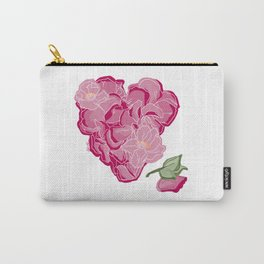 Heart of flowers Carry-All Pouch