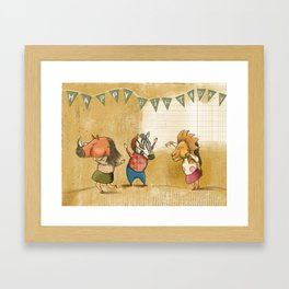 Birthday party Framed Art Print