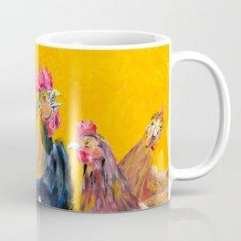 Chickens of Many Colors Coffee Mug